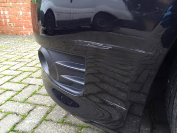 Bumper Paintwork Damage Ware
