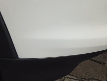 Lower Valance Paint Repair North London