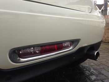 Paintwork repair cost on bumper
