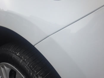 Dented scuff repair Harpenden
